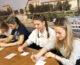 Ученики школ Краснооктябрьского района провели круглый стол «Живая лампада» ко Дню славянской письменности