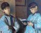 На выставке в Волгограде представлена картина «Алтарники» протоиерея Сергия Ермакова