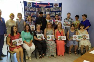 Владыка Феодор побывал на детском празднике в социальном центре Дзержинского района