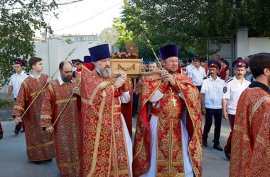Фоторепортаж о крестном ходе в память 100-летия мученического подвига  Николая Попова