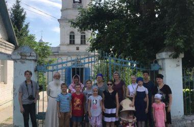 Приходская община храма Иосифа Астраханского побывала в паломническо-краеведческой поездке
