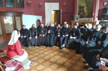 Началась стажировка священников отвечающих за больничное служение