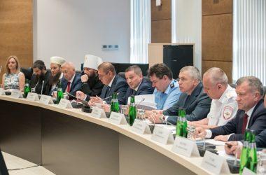 Митрополит Феодор принял участие в заседании регионального Консультативного совета по национальной политике