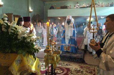 В канун Вознесения Господня митрополит Феодор совершил Всенощное бдение