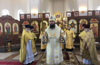 Слово митрополита Феодора, произнесенное в день Всех святых в храме на Мамаевом кургане