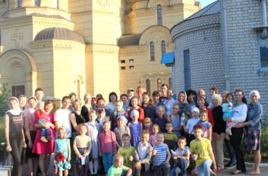 Праздник для самых маленьких состоялся в храме Иоанна Кронштадтского