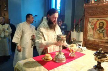 В день памяти святителя Луки Крымского митрополит Феодор совершил Божественную литургию
