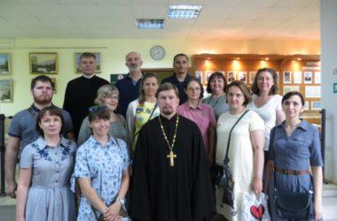 Слушатели центра подготовки церковных специалистов побывали в областном архиве