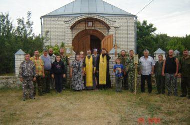 В станице Усть-Хопёрской встречали казачий крестный ход