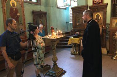 В Волгоградской митрополии работает съёмочная группа телеканала «Союз»