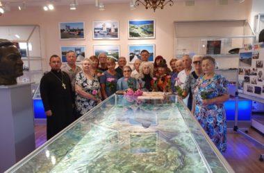 Священник поздравил ветеранов-водников 67-летием Волго-Донского судоходного канала