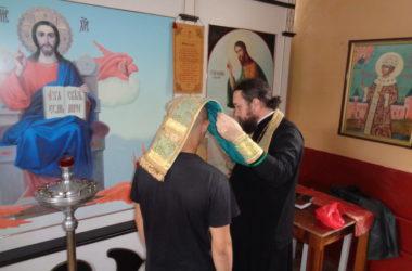Воспитанники Камышинской колонии для несовершеннолетних приняли церковные таинства