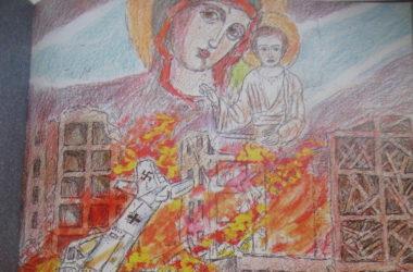 Старейший художник Волгограда вспоминает о том, как видел Богородицу в дни Сталинградской битвы