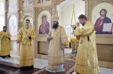 Видео: Слово Владыки Феодора после богослужения в храме Параскевы Пятницы