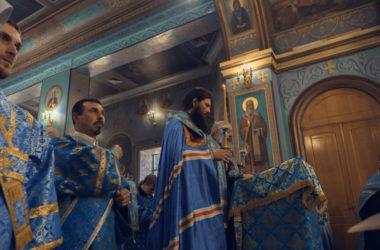 Видео: Всенощное бдение в канун престольного праздника Казанского собора