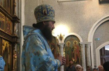 Видео. Слово Митрополита Феодора: Мы должны быть достойны милости Царицы Небесной