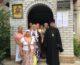 В Храме Амвросия Оптинского в канун Престольного праздника прошло Архиерейское Богослужение