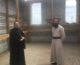 Митрополит Феодор посетил строящийся храм княгини Ольги в поселке Максима Горького