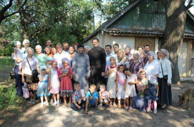 Поселение «Отрада» собрало православные семьи в дни летних каникул