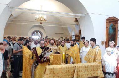 Молебен по особому чину совершался в праздник Крещения Руси