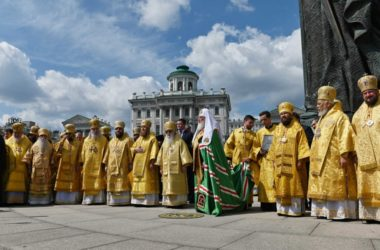 Видео: Проповедь Святейшего Патриарха в день памяти святого равноапостольного князя Владимира День Крещения Руси