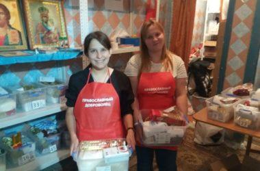 «Корзина добра»: в храме святого князя Владимира собирают гуманитарную помощь для малоимущих