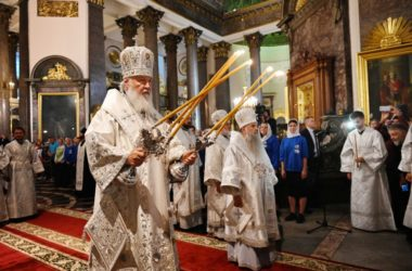 Слово Святейшего Патриарха Кирилла после всенощного бдения в Казанском кафедральном соборе Санкт-Петербурга