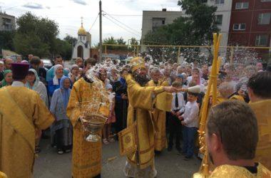 Митрополит Феодор совершил Божественную литургию в престольный праздник Свято-Ильинского храма