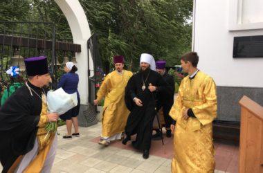 В эфире телеканала «Союз» вышел репортаж о празднике в храме Феодора Ушакова