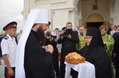 Видеоотчет о визите митрополита Феодора в Усть-Медведицкий Спасо-Преображенский монастырь