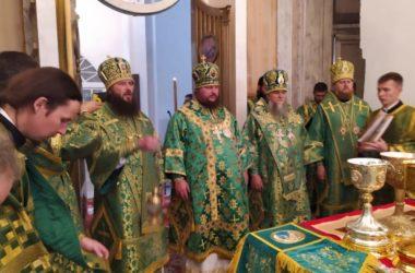 Митрополит Феодор принял участие в торжествах в честь преподобного Макария Унженского