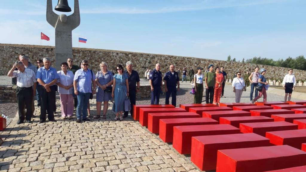 Останки защитников Сталинграда погребены на Россошинском кладбище
