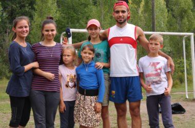 «Вместе мы — сила»: спортивная игра на летней молодежной школе