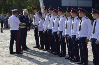 Кадетский корпус имени К. Недорубова принял более трехсот учеников