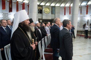 Митрополит Феодор принял участие в церемонии инаугурации губернатора Волгоградской области