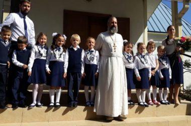На Богоявленском приходе открылась начальная православная школа