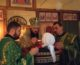 Ночная Божественная Литургия в храме Силуана Афонского