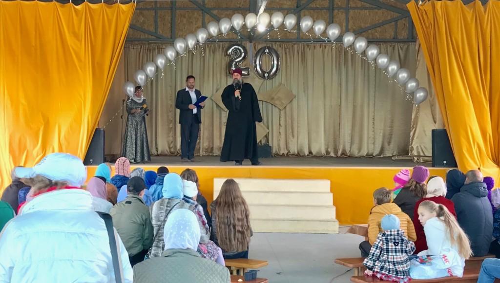Богоявленскому приходу исполнилось 20 лет