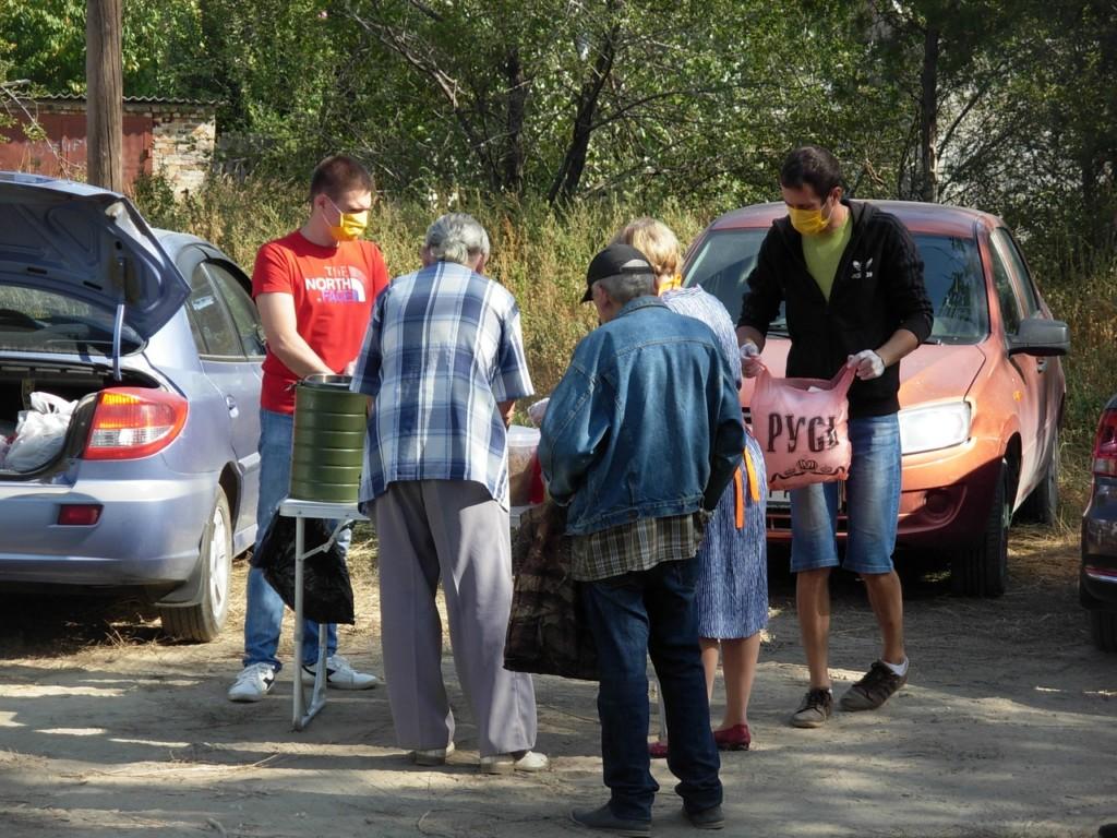 К волонтерскому проекту по помощи бездомным присоединились новые добровольцы