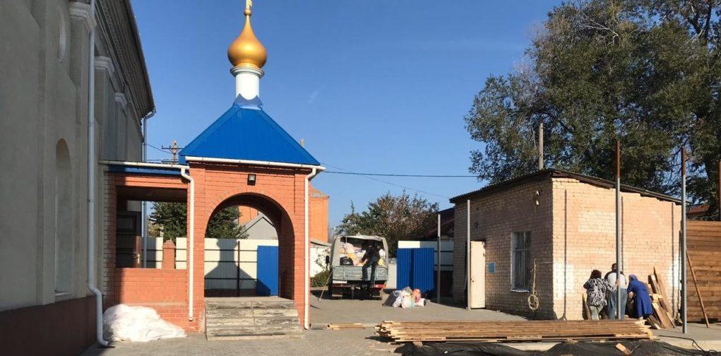 В Камышин из Волгограда доставлена очередная партия гуманитарной помощи