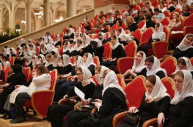 Открытие II Международного съезда регентов и певчих Русской Православной Церкви
