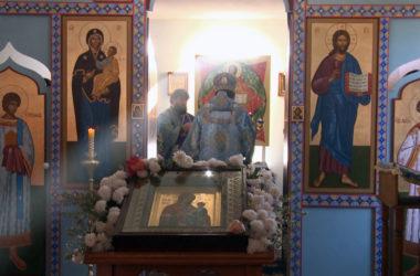 Престольный праздник прихожане храма в поселке Кузьмичи отмечают четыре раза в году