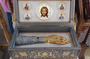 В Волгоградскую епархию прибудут мощи святителя Луки и икона священномученика Киприана и мученицы Иустины