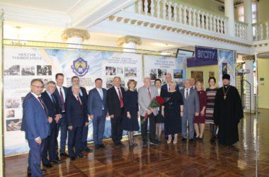 В заседании Совета ректоров вузов Волгоградской области принял участие протоиерей Алексей Маслов