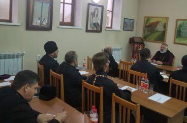 Состоялось собрание духовенства Камышинского благочиния