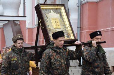 В Волгоградскую епархию прибывает казачий крестный ход