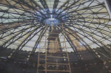 Корреспондент сайта Волгоградской епархии первым увидел купол собора Александра Невского: видео