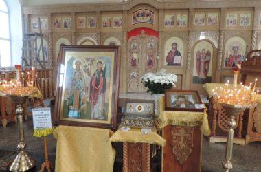 Святыни из Ташкента побывали с храме великомученицы Параскевы