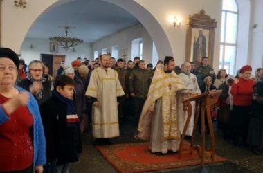 Курсанты-аграрии приняли участие в празднике архангела Михаила