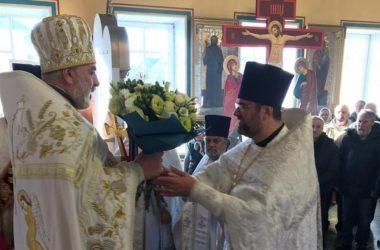 Приход храма Михаила Архангела города Котово отметил престольный праздник